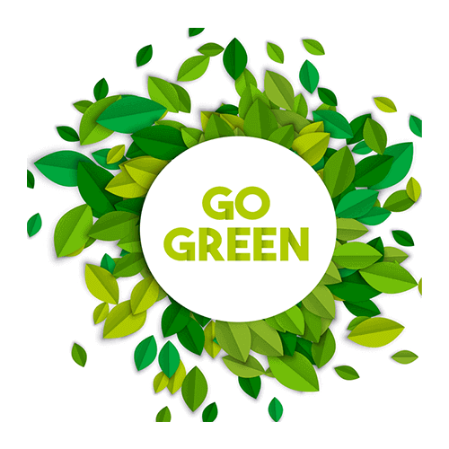 Go Green - Equinox cleaning